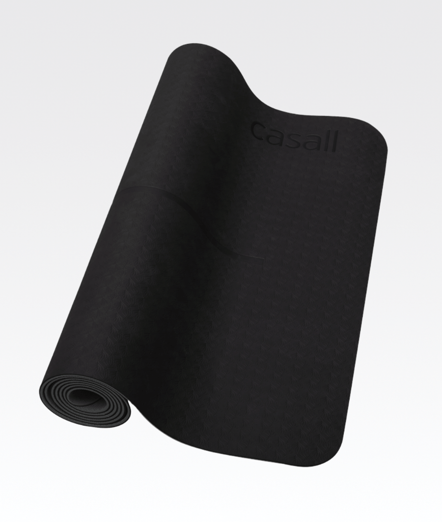 Position Yoga Mat 4mm Black/Grey