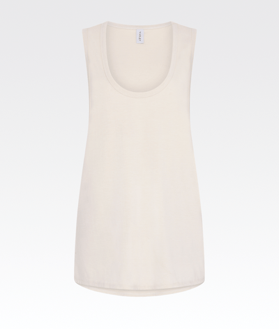 Elenda Top in Bone White