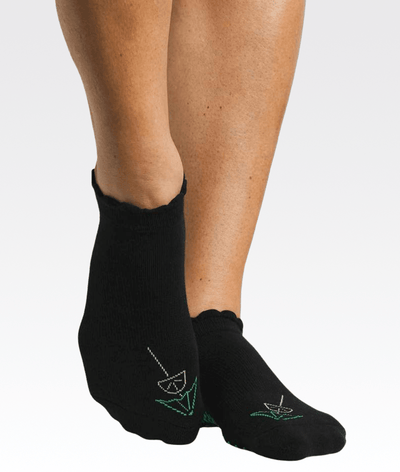 Happy Hour Grip Sock Black
