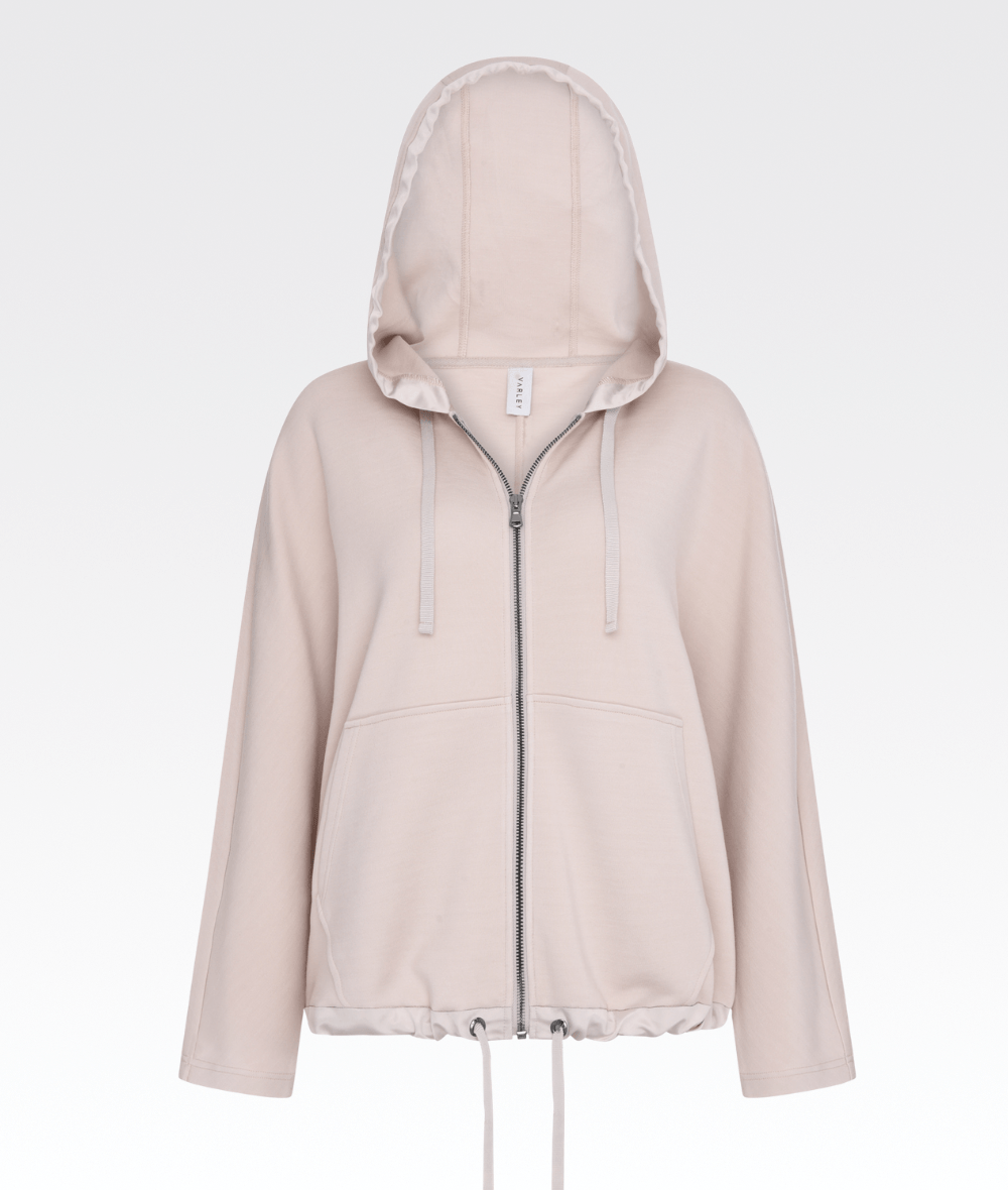 Moreno Hoodie in Silver Grey