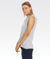 Frill Muscle Tank in Marl