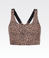 Cheetah Sand Sports Bra