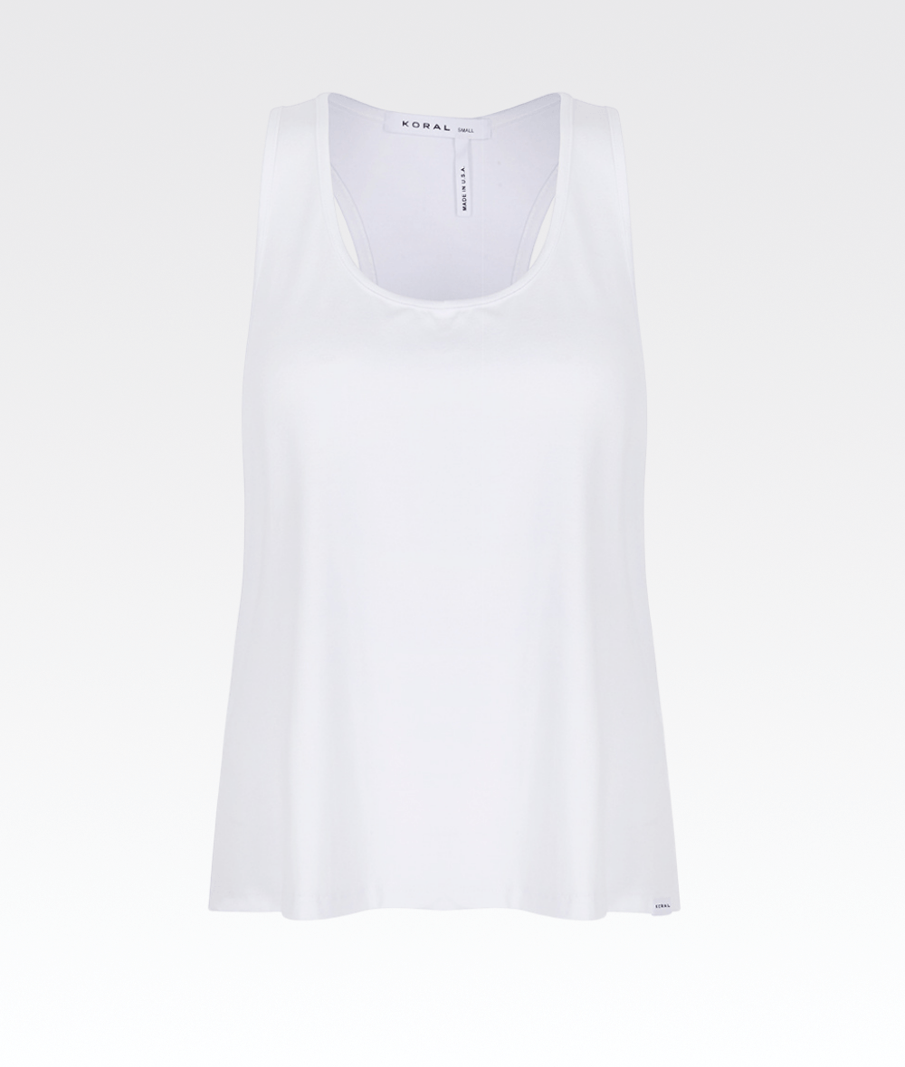 Zyra Brisa Tank in White