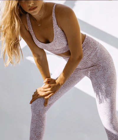 Zodi Sports Bra in Wild Rose