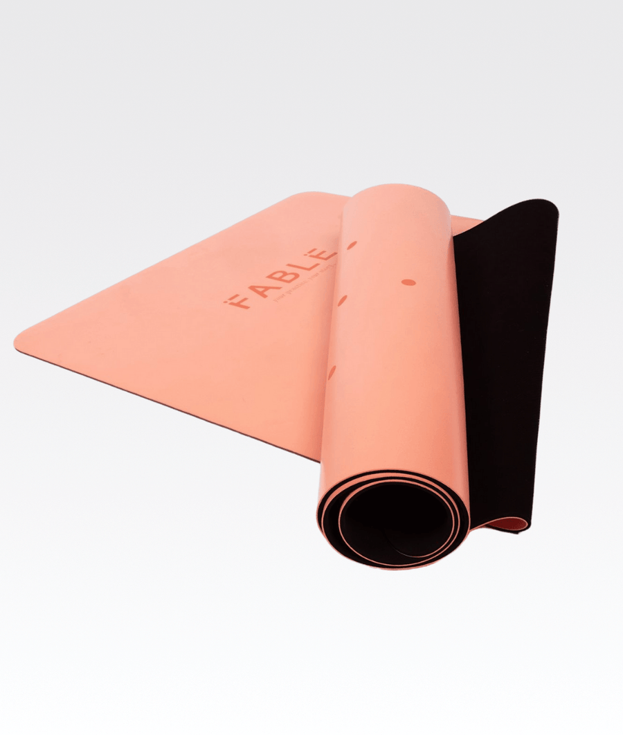 4MM Pro Grip Studio Yoga Mat in Blush Pink