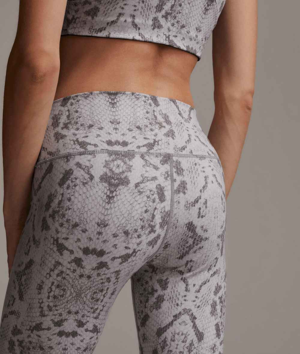 Century Legging in Taupe Grey Snake