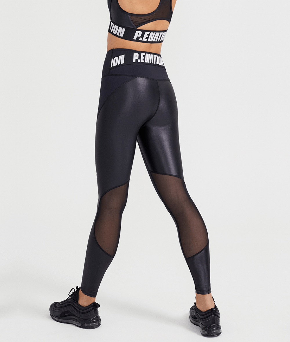 Resistance Legging in Black