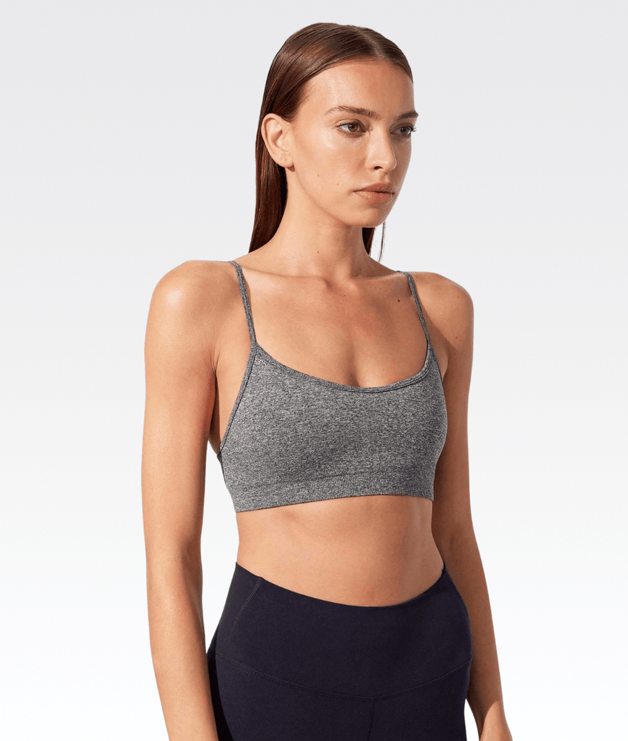 Loren Seamless Bra in Heather Grey