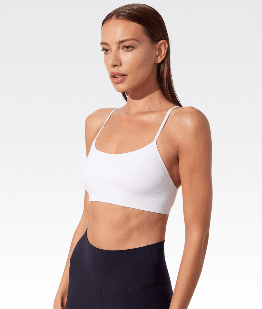 Loren Seamless Bra in White