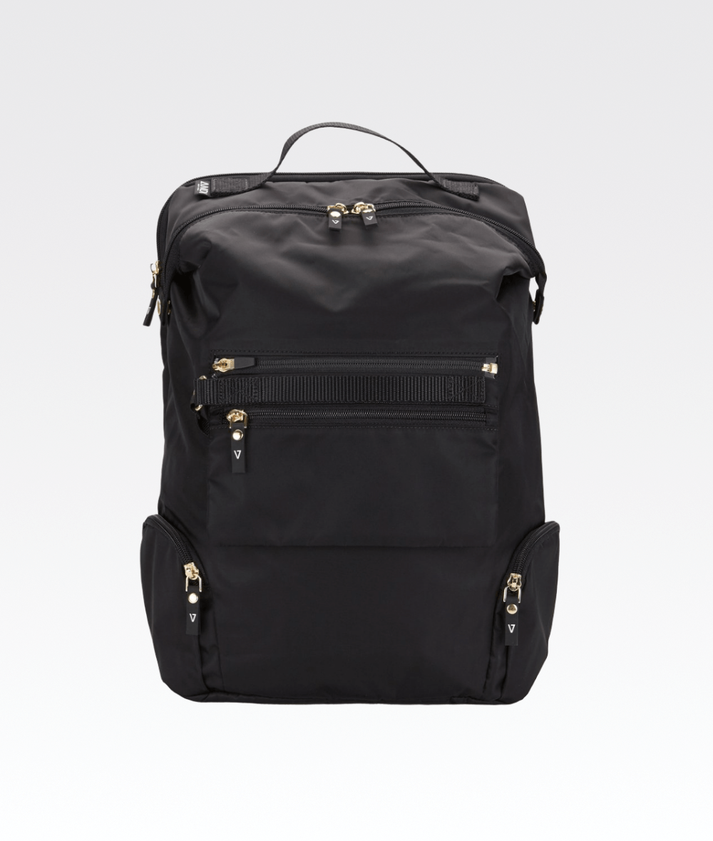The ANDI Backpack in Black Apple