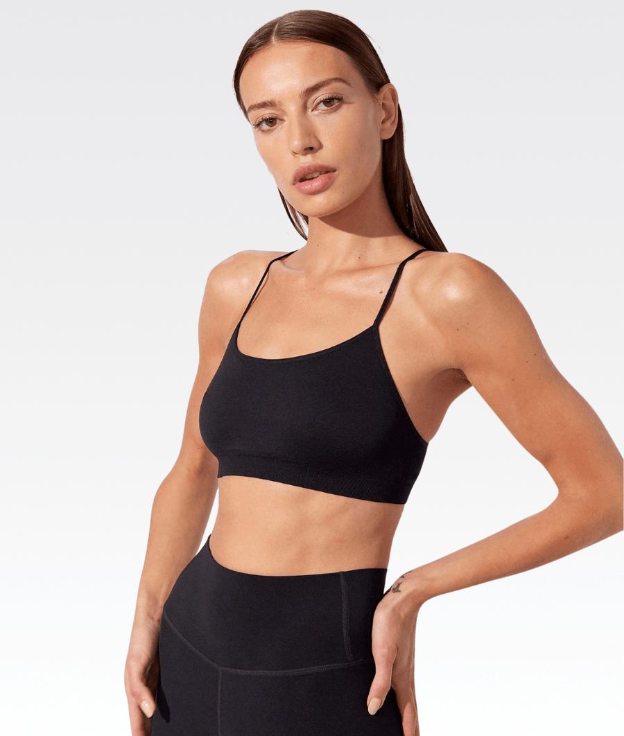 Loren Seamless Bra in Black
