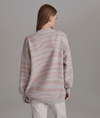 Mayberry Sweater in Pale Blush Zebra