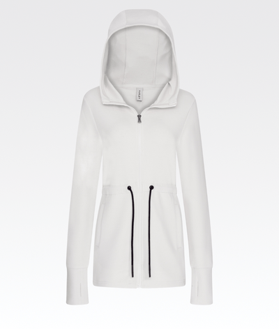 Colby Hoodie in White