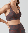Rivaa Sports Bra Stucco Wine