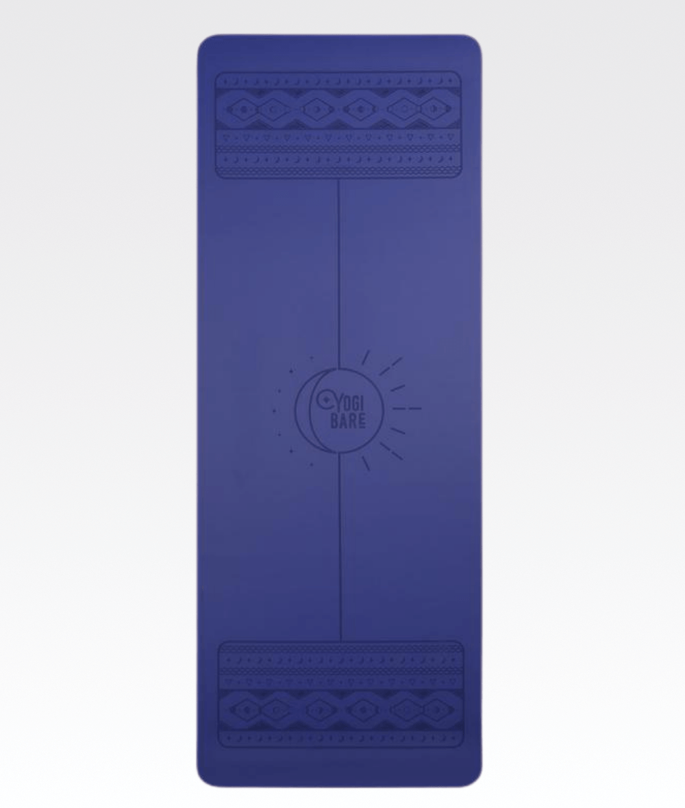 Lunar Paws Yoga Mat in Blue 4mm