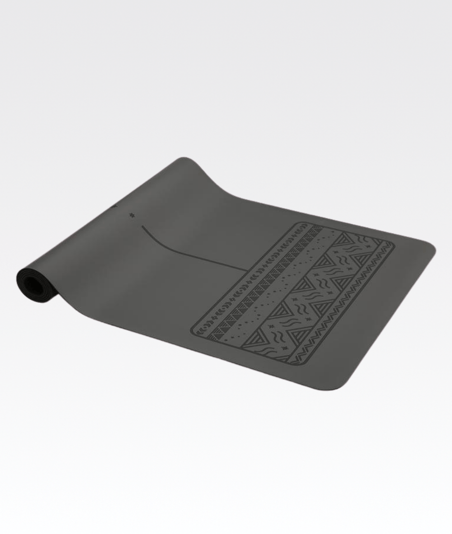 Paws Yoga Mat in Grey 4mm