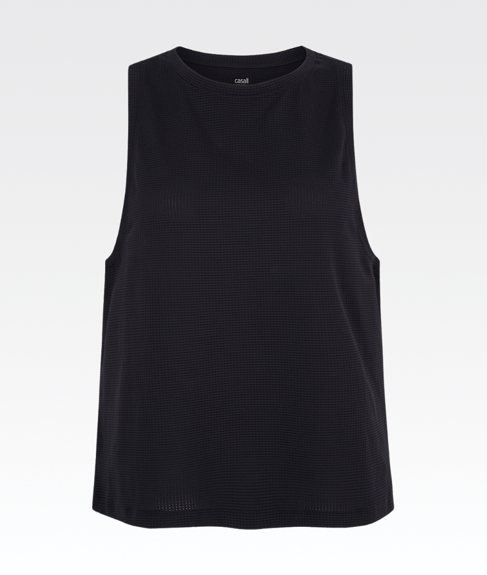 Iconic Loose Tank Black