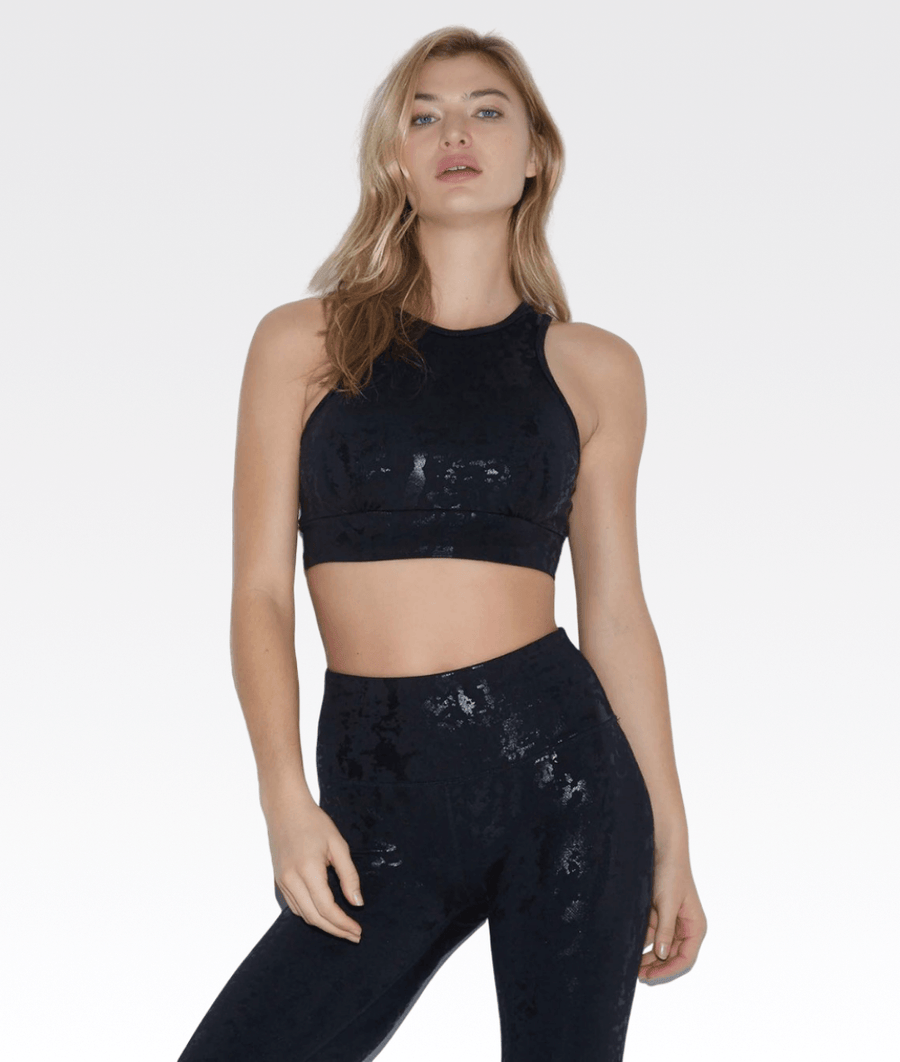Aria Sports Bra in Liquid Camo