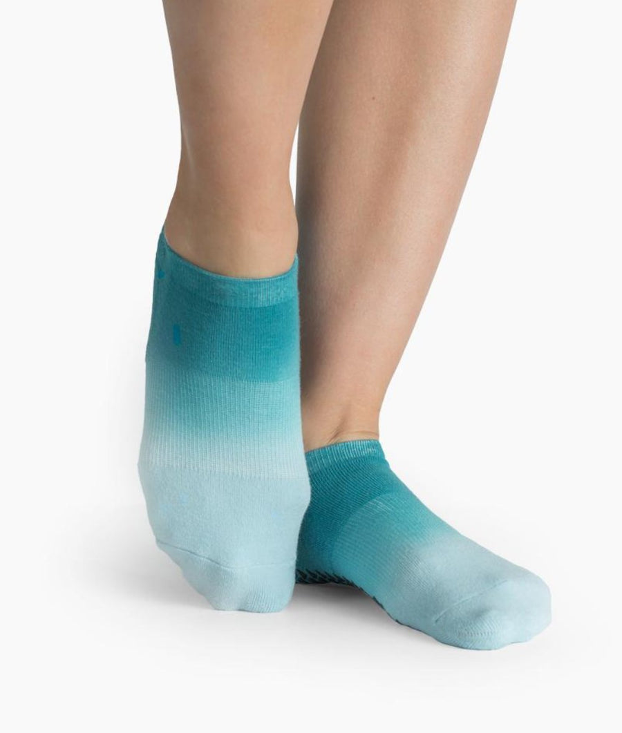 Elie Grip Sock in Blue