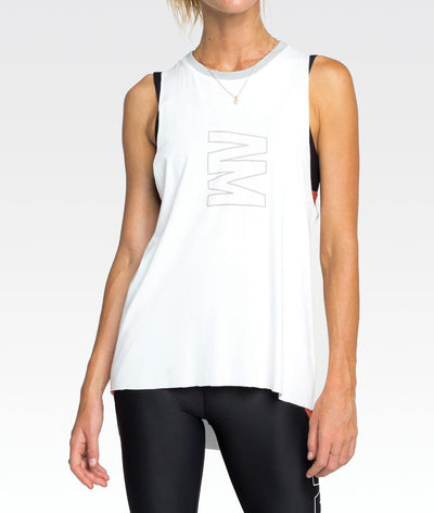 Verse Tank in White ***
