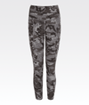 high waisted grey camo legging with pockets