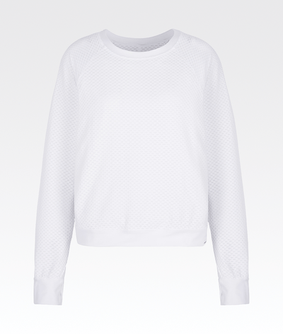 Sofia Pullover in White