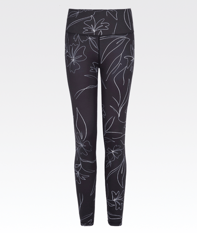Carbon Wildflower Legging