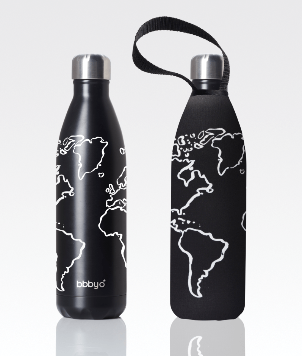 Black & Globe Sketch - 750ml