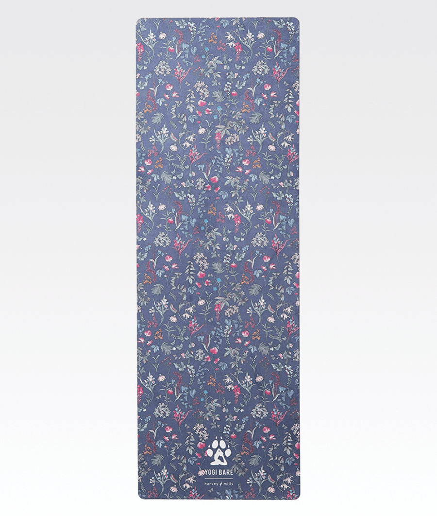 Teddy Yoga Mat in Midnight Garden