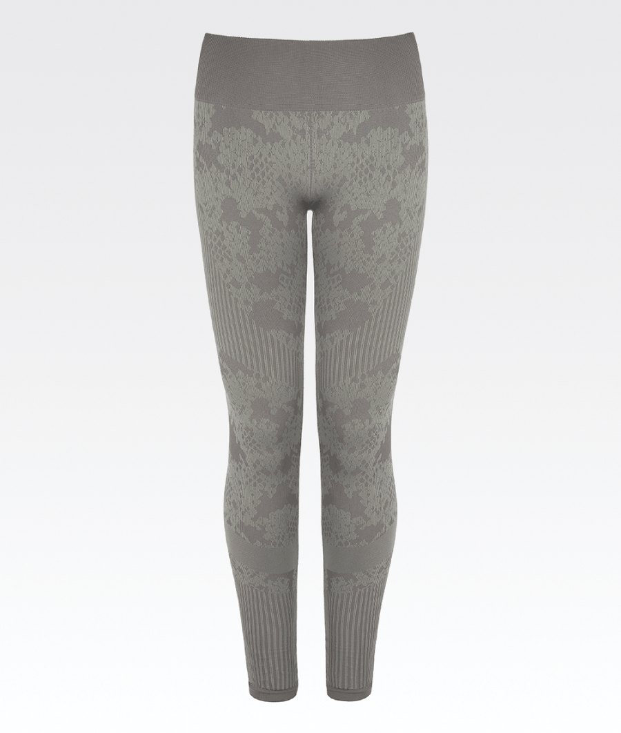 2215628f5f7991 high waisted seamless gym leggings in khaki green with snake print