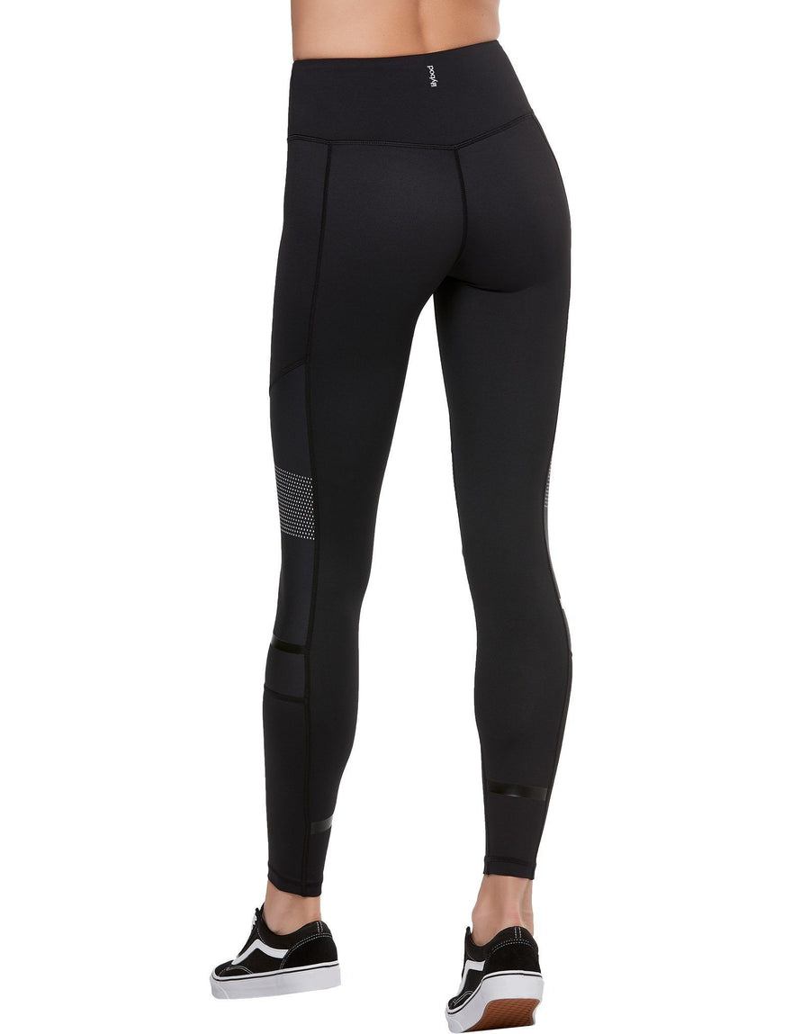black high waisted high performance gym leggings by lilybod