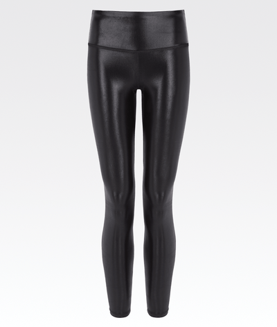 high shine liquid like full length high waisted womens gym legging
