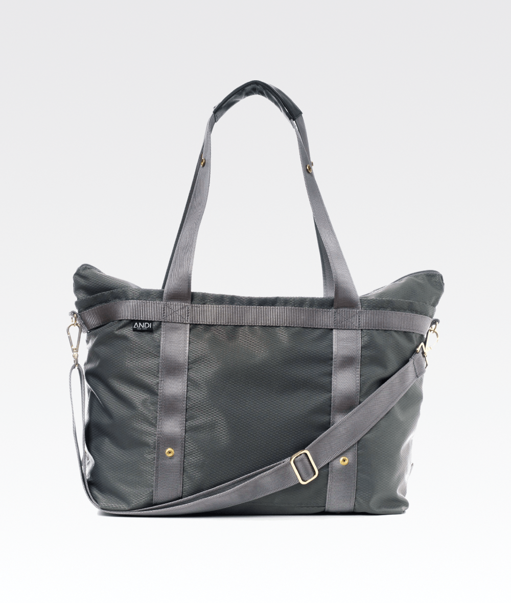 The ANDI Bag in Diamond Steel