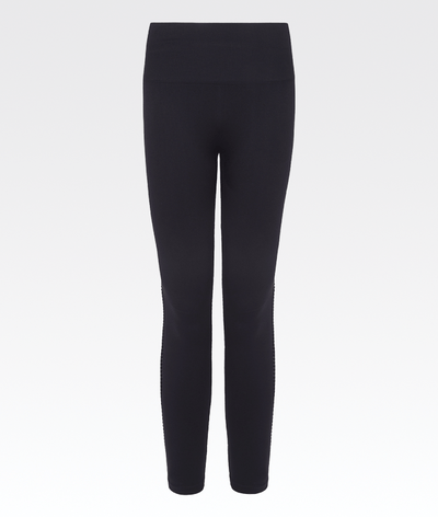 high waisted seamless knitted leggings by varley gym activewear