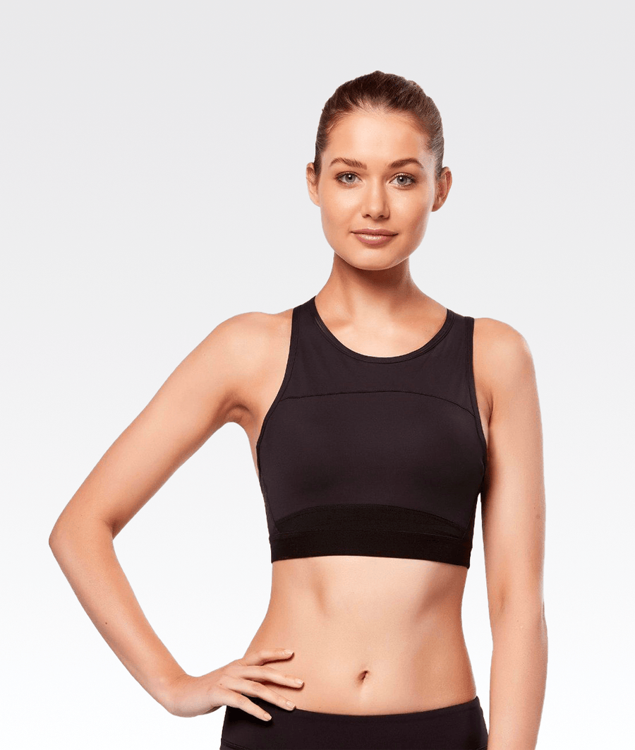 Petta Sports Bra in Jet Core
