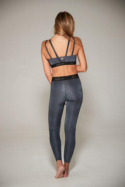 Radiance Legging in Black Croc