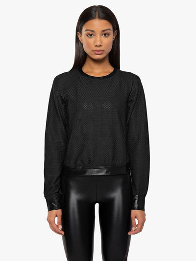 Sofia Pullover in Black