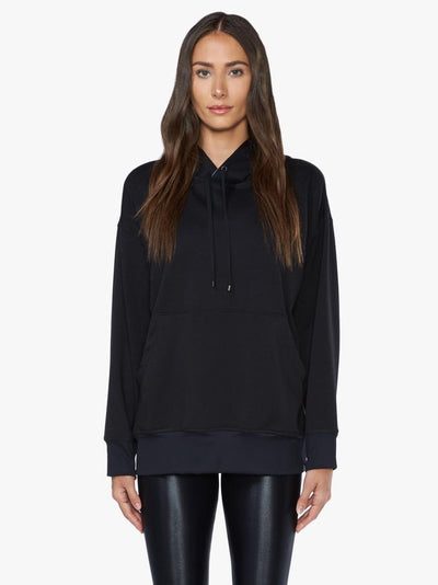 Women's activewear sports hoodie in black from My Gym Wardrobe.