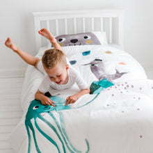 Jellyfish Toddler Comforter