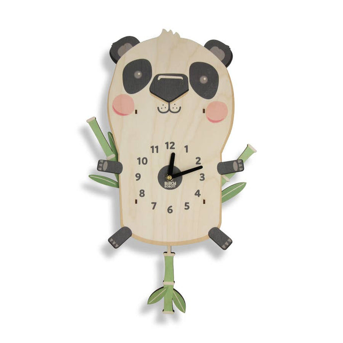 Jia the Panda Clock