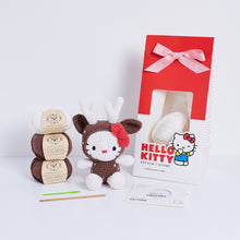 Hello Kitty Reindeer Amigurumi