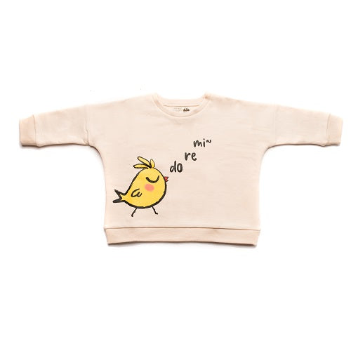Oversized Singing Chick Sweatshirt