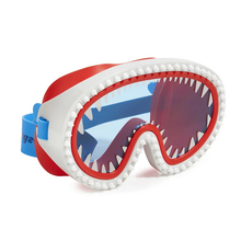 Bling2o Shark Attack Swim Mask (white/blue)