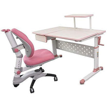 "ApexDesk DX 43"" Children's Height Adjustable Study Desk  and chair in Pink)"