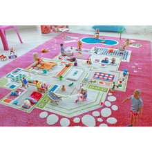 Play House Pink playroom Carpet Large 134x180cm