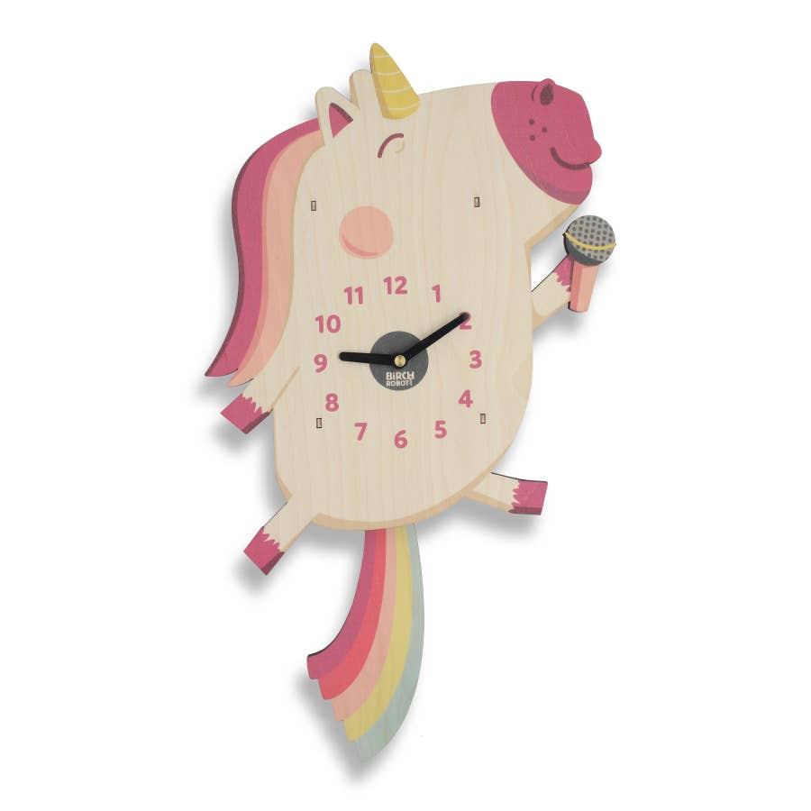 Dolly the Unicorn Clock