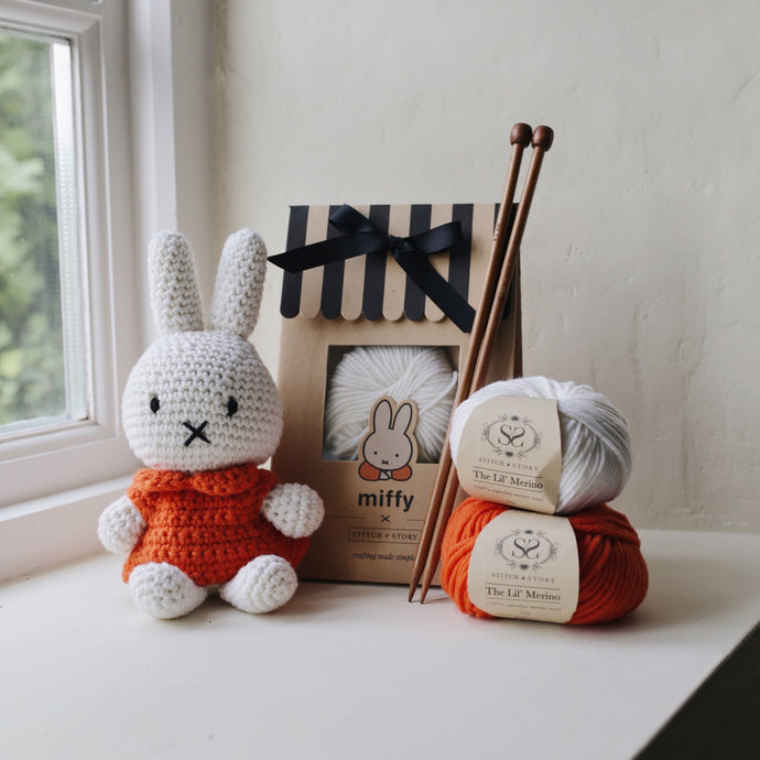 Miffy Amigurumi Crochet Kit