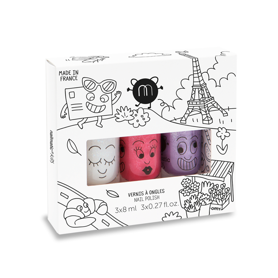 Paris City - Nail Polish Set