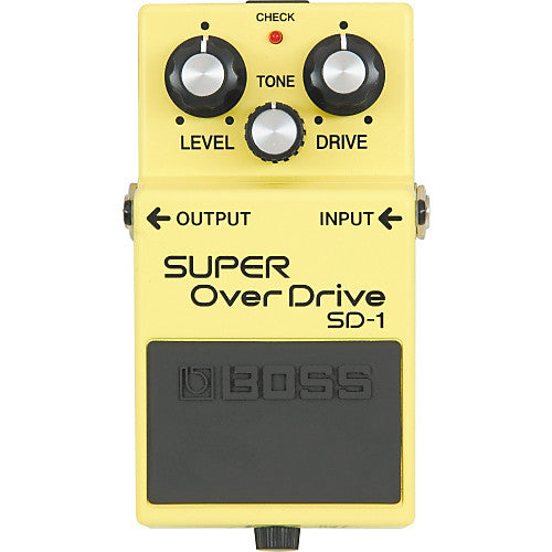 A few easy Boss SD-1 Super Overdrive Mods