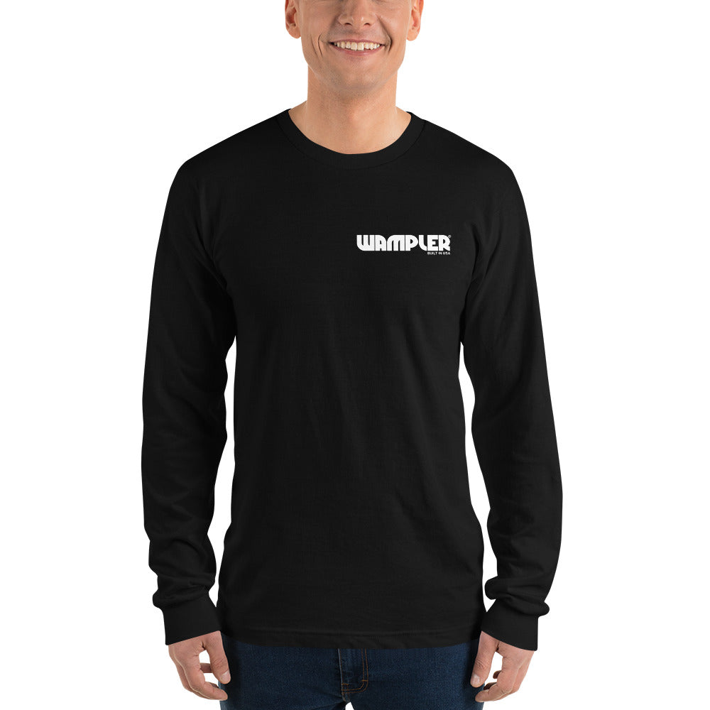 Classic Wampler Logo Long sleeve t-shirt